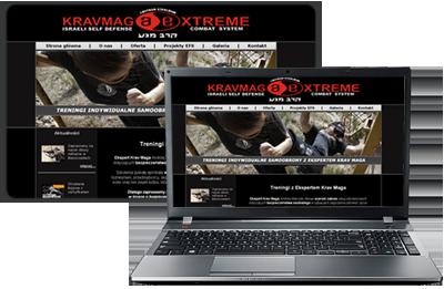 portfolio - krav maga extreme - strona www